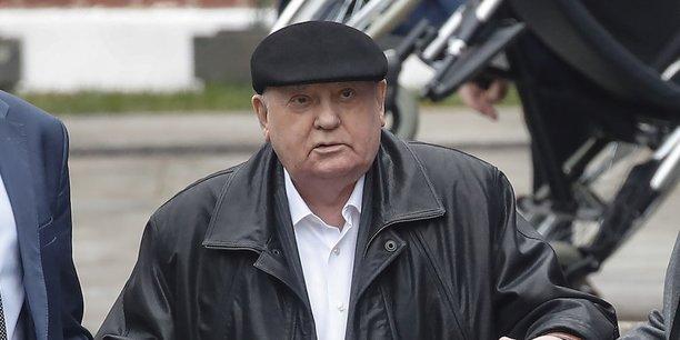 Mikhaïl Gorbatchev, en octobre dernier.