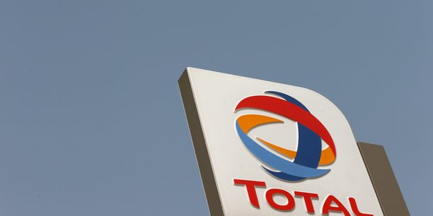 File photo: the logo of total oil company is pictured in abuja[reuters.com]