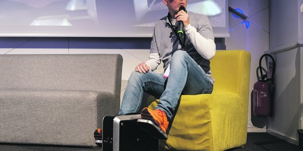 Eveia, une startup qui a conçu un repose-pieds ergonomique, a été soutenue par le dispositif Scale'up.