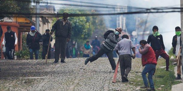 Chaos en bolivie apres la demission du president morales[reuters.com]