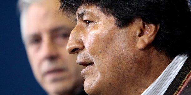 Le mexique accorde l'asile a evo morales[reuters.com]