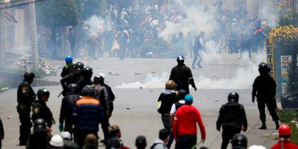 La bolivie plonge dans le chaos, evo morales se refugie au mexique[reuters.com]