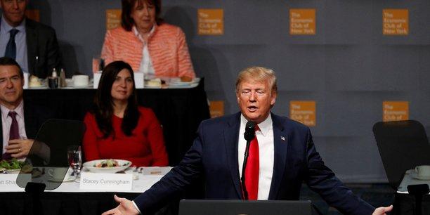 Trump s'en prend a la politique commerciale de l'ue[reuters.com]