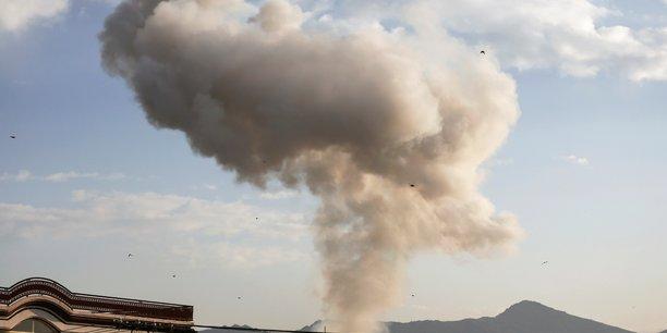 Attentat a kaboul pres du ministere de l'interieur[reuters.com]
