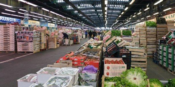 Le marché international de Rungis a fait une très bonne année en 2020 malgré le Covid et le Brexit, affirme son président Stéphane Layani.