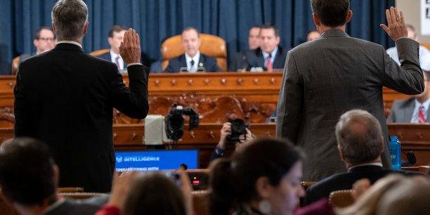impeachment: debut des auditions publiques au congres americain[reuters.com]