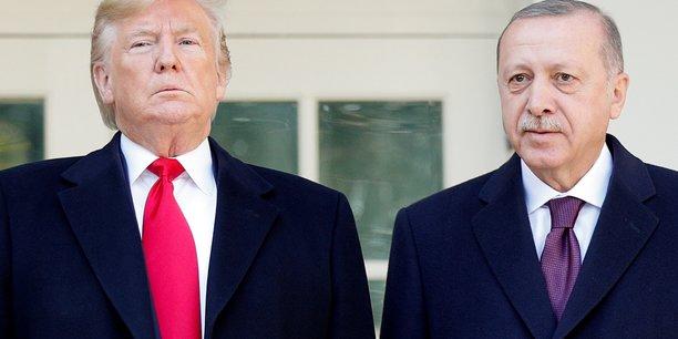 Erdogan recu chaleureusement a la maison blanche[reuters.com]