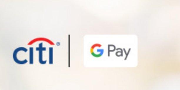 Google est déjà partenaire de Citigroup pour son service Google Pay.