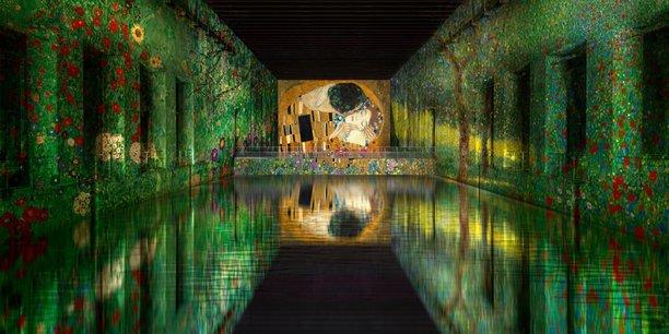 Les Bassins de lumières débuteront par une exposition sur le peintre autrichien Gustav Klimt.