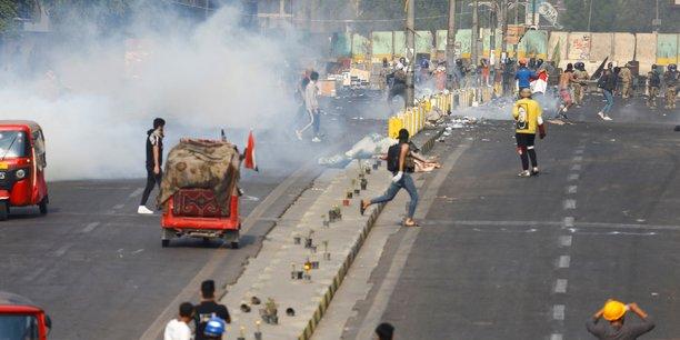 Irak: les manifestations se poursuivent a bagdad, quatre morts[reuters.com]