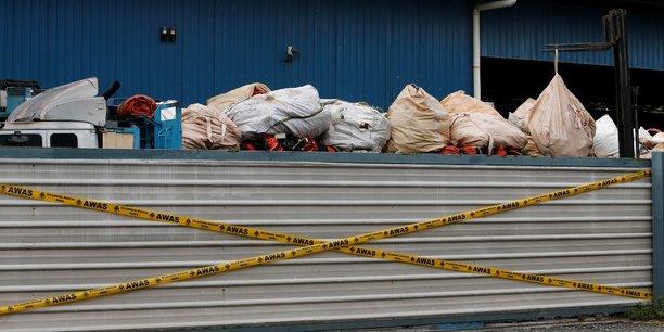 Ces déchets avaient été renvoyés à l'expéditeur par la Malaisie car non conformes à sa réglementation.