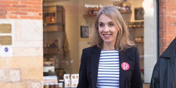 Nadia Pellefigue veut enclencher la végétalisation du centre-ville.