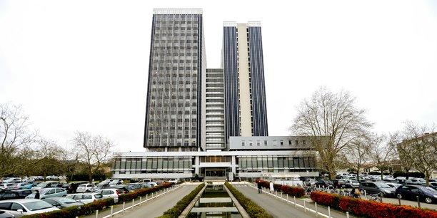 Les deux tours de la Cité administrative de Bordeaux