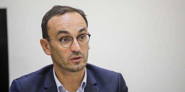 Thomas Cazenave, le candidat de La République en marche (LREM) à la mairie de Bordeaux.