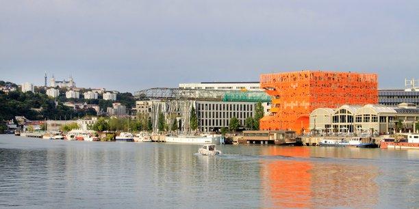 Confluence, le premier éco quartier de Lyon