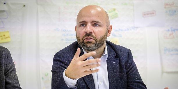 Matthieu Rouveyre, fondateur (mais plus président) de Bordeaux Maintenant, élu d'opposition à la mairie de Bordeaux et vice-président du Département de la Gironde
