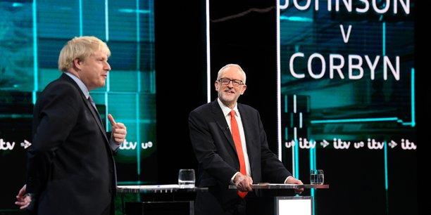 Grande-bretagne: premier debat televise equilibre entre johnson et corbyn[reuters.com]