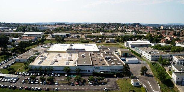 Le site industriel de Schneider Electric, à Alès, porte l'un des projets labellisés Territoire d'industrie en décembre 2019.