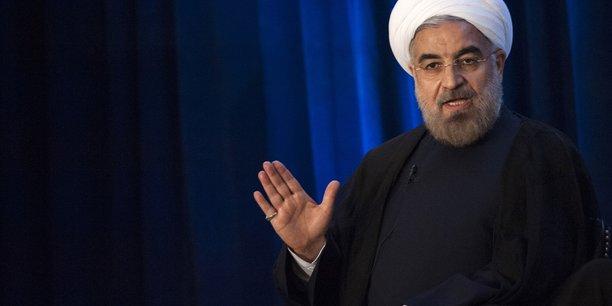 Rohani salue la victoire des iraniens face aux troubles fomentes par les ennemis[reuters.com]