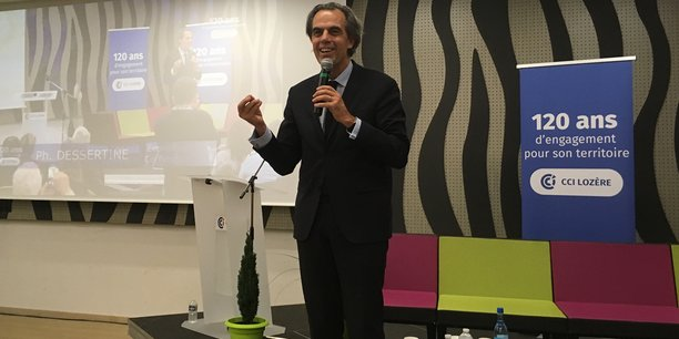 """Philippe Dessertine : """"Il est plus important d'avoir internet dans les champs agricoles que de construire le Grand Paris"""""""