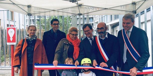 Inauguration du programme « Faubourg 94 » à Ivry-sur-Seine.