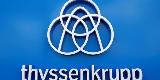 Thyssenkrupp renonce au dividende pour la 1ere fois depuis six ans[reuters.com]