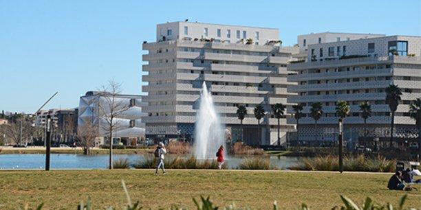 Le quartier Port Marianne, à Montpellier, est l'un des quartiers les plus ciblés par les promoteurs immobiliers.