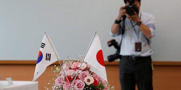 La coree du sud tend la main au japon apres des mois de brouille[reuters.com]