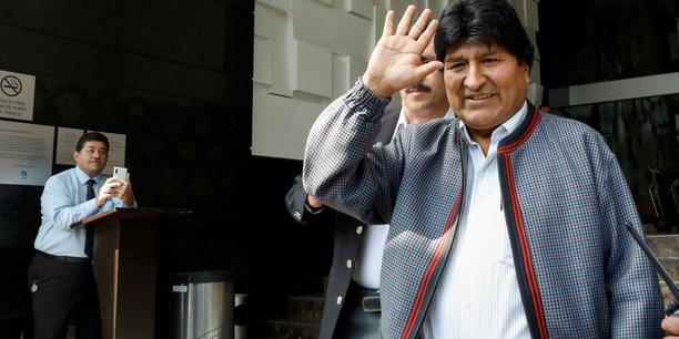 Le gouvernement provisoire de bolivie accuse morales de sedition et terrorisme[reuters.com]