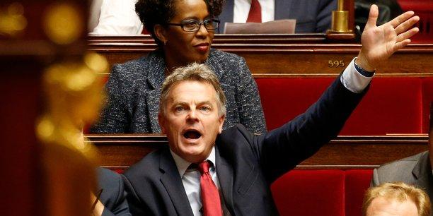Fabien Roussel à l'Assemblée nationale.