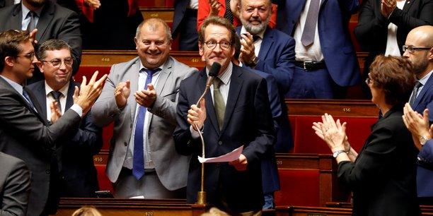 Gilles Le Gendre, président du groupe LREM à l'Assemblée nationale.
