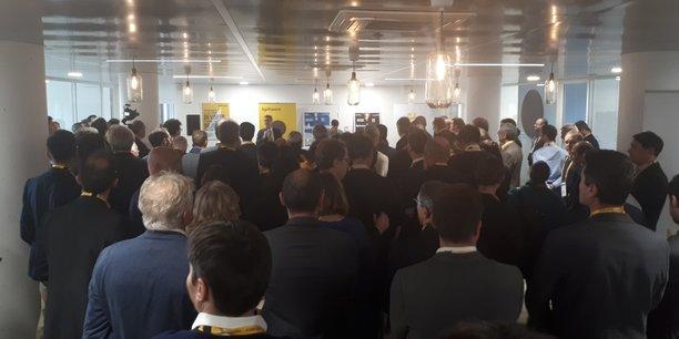 L'inauguration des nouveaux locaux de Bpifrance, situés quai de Paludate