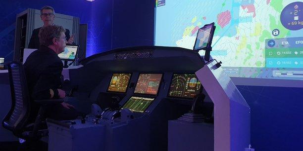 Pureflyt actualise en temps réel le plan de vol.
