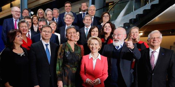 La nouvelle Commission européenne.