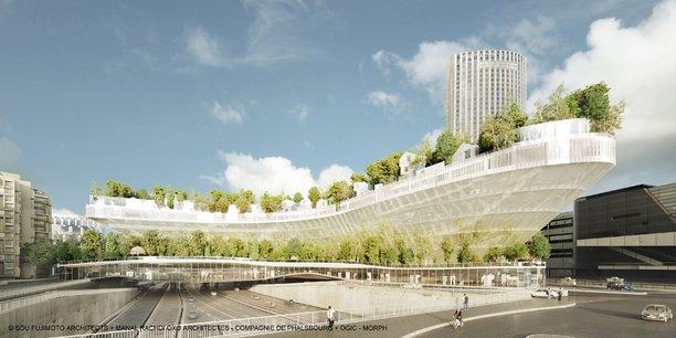Benjamin Griveaux s'inspire du projet mille arbres. Le candidat officiel de la République en marche à Paris, s'est rapproché des promoteurs rêvant de construire des logements par-dessus le périphérique.
