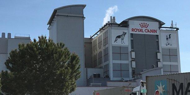 Le siège social de Royal Canin France, à Aimargues (30).