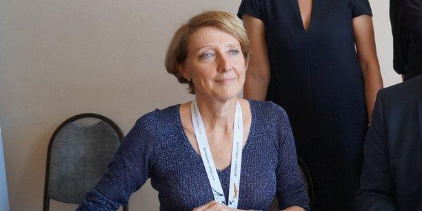 L'ancienne présidente de l'Aerospace Valley se lance dans la campagne pour les élections municipales à Toulouse aux côtés de Jean-Luc Moudenc.