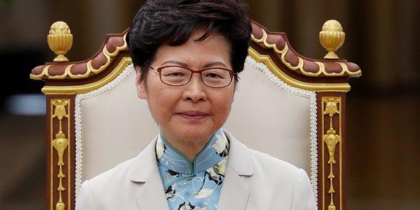 Hong kong: lam inquiete des effets potentiels d'une loi us sur l'economie[reuters.com]