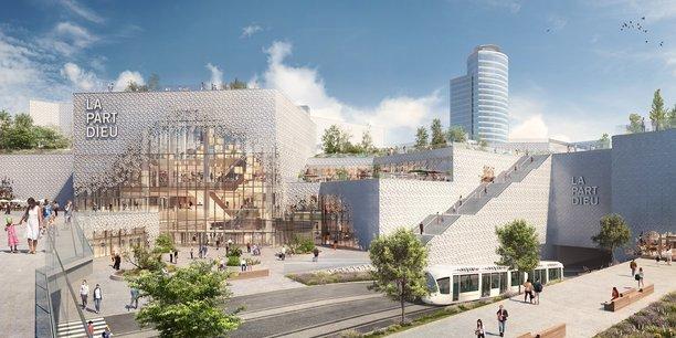 Le nouveau visage du centre commercial de Lyon La Part-Dieu en 2020