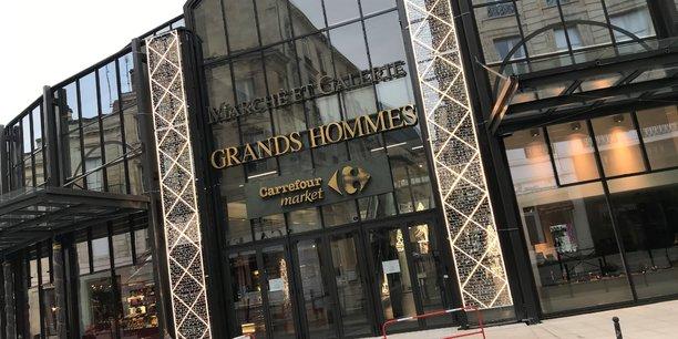 Le centre commercial des Grands Hommes, sur la place du même nom à Bordeaux