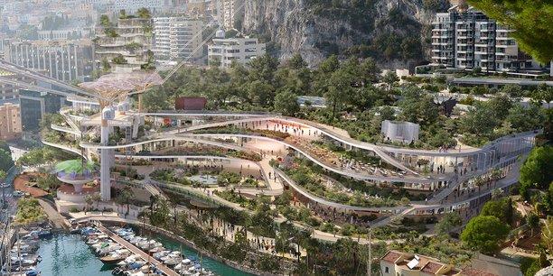Le projet de renouvellement urbain du quartier de Fontvieille à Monaco sera porté par le groupe montpelliérain Socri Reim.