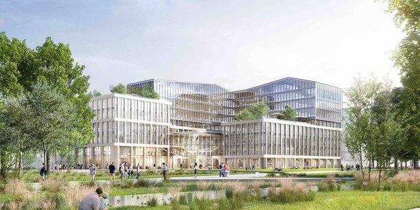 Covivio et Onepoint dévoilent leur futur campus numérique de Bordeaux