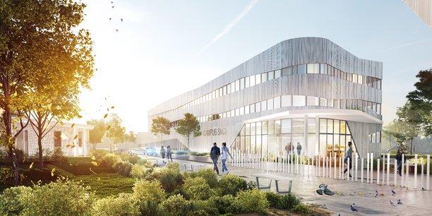 GSE a travaillé avec le cabinet d'architectes A + sur ce projet de campus à Bègles.