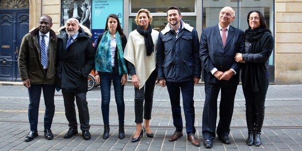 L'état-major de campagne de Nicolas Florian pour l'élection municipale de mars 2020