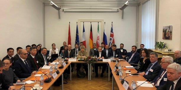 Reunion tendue entre signataires de l'accord sur le nucleaire iranien[reuters.com]