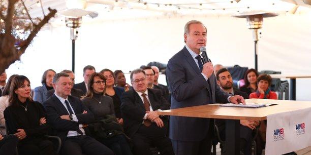Le maire sortant de Toulouse a dévoilé ses coéquipiers pour les élections municipales de mars 2020.