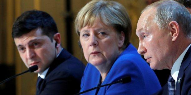 Poutine et zelenski conviennent a paris d'un echange de prisonniers[reuters.com]