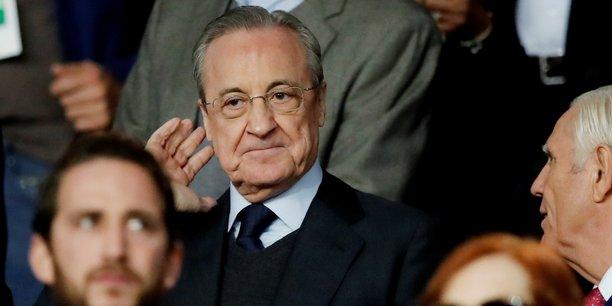 Le 18 septembre dernier, au Parc des Princes, pour la première journée de la phase de poules de la Ligue des Champions, Florentino Perez, le président du Real Madrid, lors du match contre le PSG (match remporté magistralement par ce dernier 3-0).
