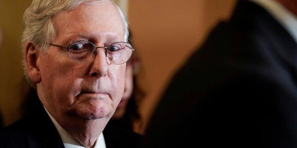 Usa/impeachment: un proces au senat pourrait etre ecourte, dit mcconnell[reuters.com]