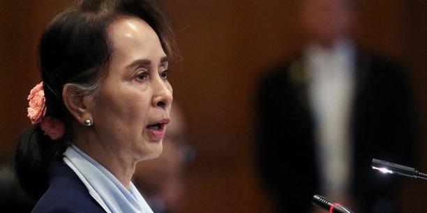 Birmanie: suu kyi nie toute intention genocidaire a l'encontre des rohingya[reuters.com]